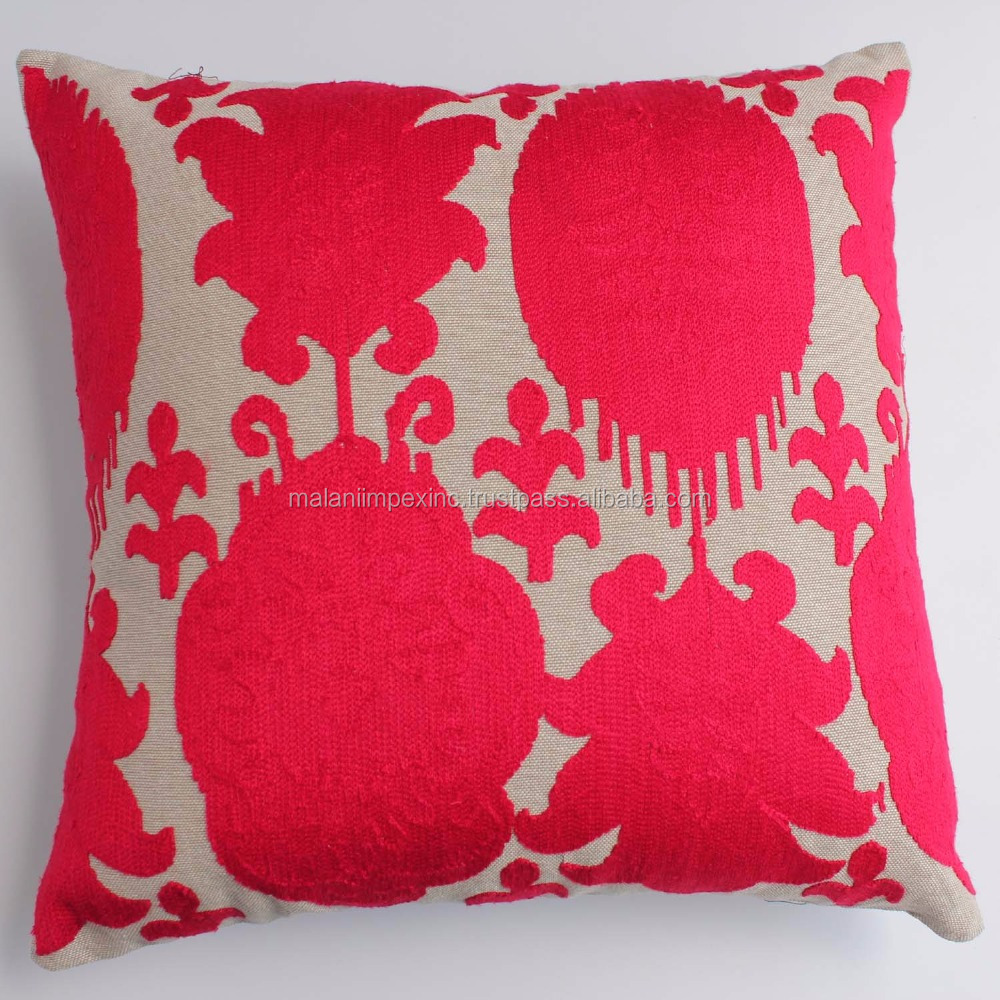 Malani Impex - Kashmir wool embroidered cushion cover