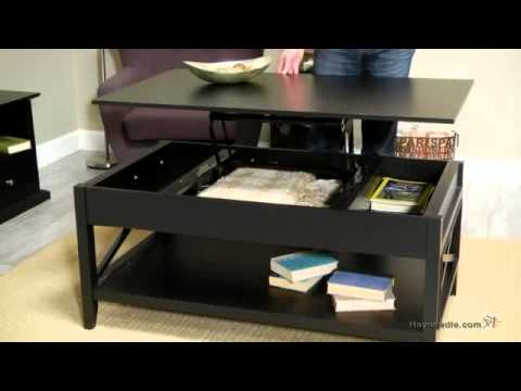 buy danville trunk coffee table with lift-top espresso home