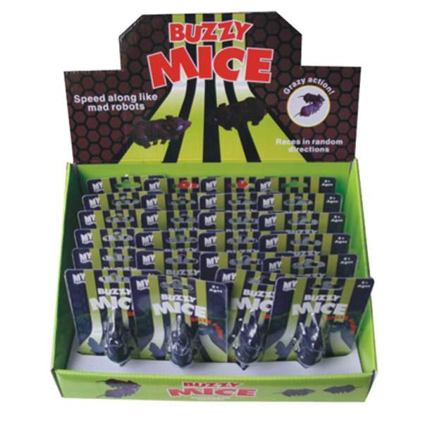 Electronic Buzzy Mice