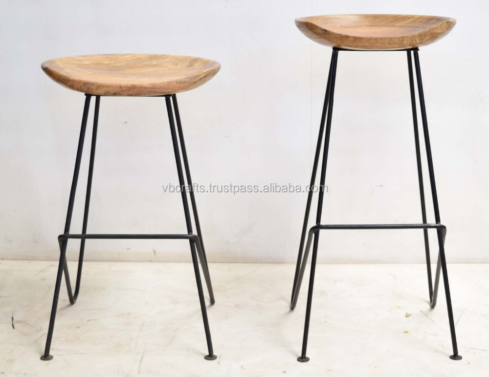 Mango Wood Bar Stools Amp Bar Stool 54 Unbelievable Mango