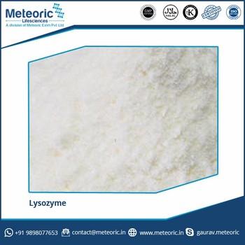Lysozyme water soluble 20,000 IU/mg