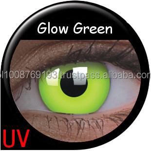 4d5e5529b Colourvue Crazy Glow Uv Lenses Glow Green 2pk Maxvue Vision - Buy ...