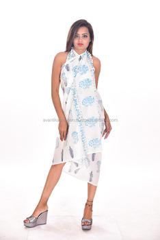 EAswet New arrival fashion printed cotton beach sarong and pareo
