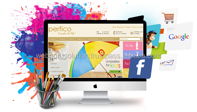 Corporate And Promo Web Application Development