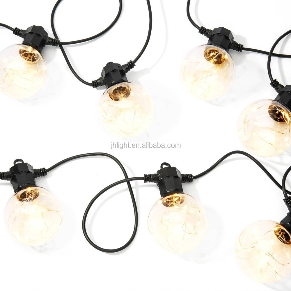 Celestial Globe String Lights With Silver Color Wire Leds,Strand Of ...