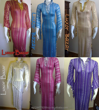 01bf30062 Egyptian Belly Dance Dress Saidi Costume,Baladi Galabeya, Fallahi Abaya,  Kaftan (Tof