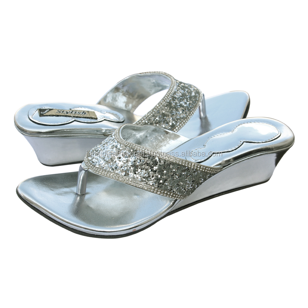42567f4cb6bc New Design Ladies Fancy Sandal And Silver Jarkan Ladies Footwear - Buy Ladies  Fancy Footwear