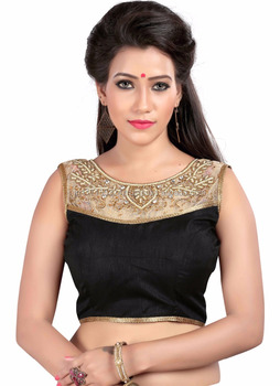7dec872d2d358 Party wear hand work blouse - Black designer blouse - Blouse - Banglori  sarees blouse designs