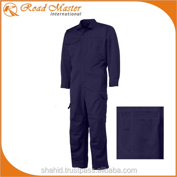 Navy Blue Dark Coveralls Perfect For Oil and Gas