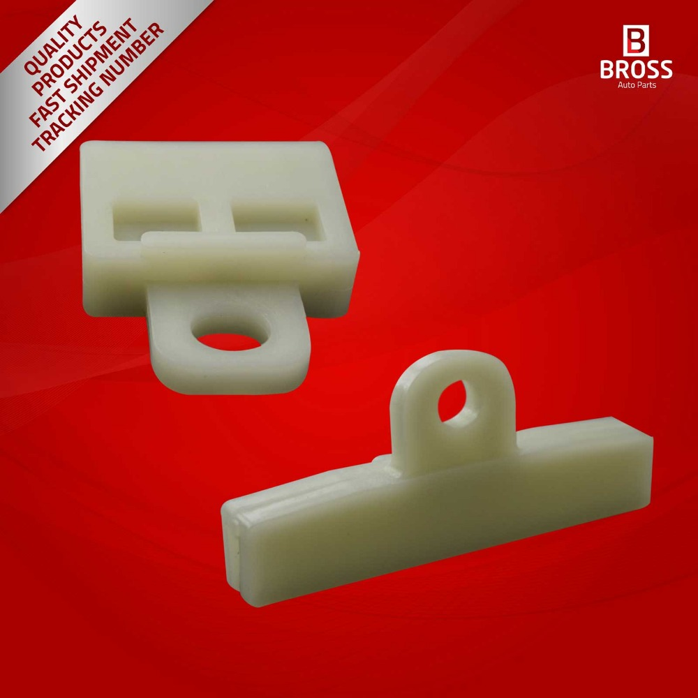 Mazda,Nissan 2X Window Regulator Glass Channel Slider Connector Clips for Honda