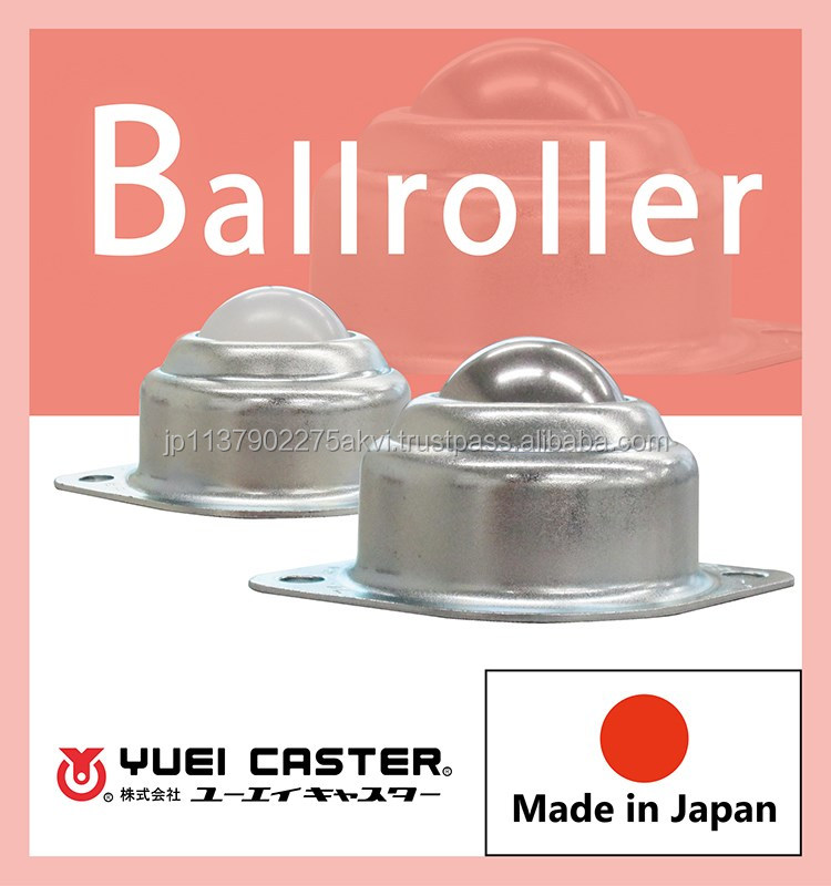 Durable smooth moving ball transfer units stainless steel bearing for conveyor belts