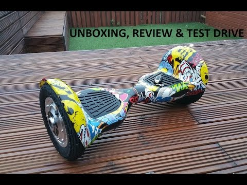 "Self balancing, wheel smarting electric scooter, ""Mini-Segway"", ""HOVERBOARD"" UNBOXING, REVIEW"