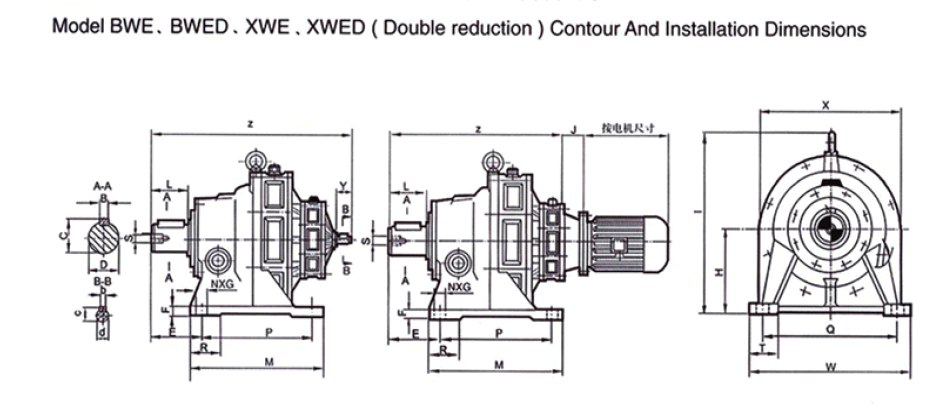 Kết quả hình ảnh cho drawing BWD GEARBOX
