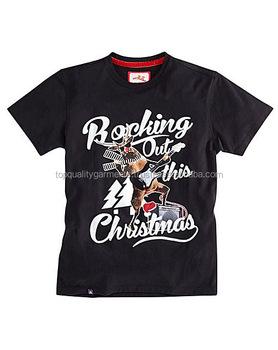 Nuevo O cuello Extra grande de Navidad camiseta de diseño personalizado de  los hombres de manga 33f6e76cad429