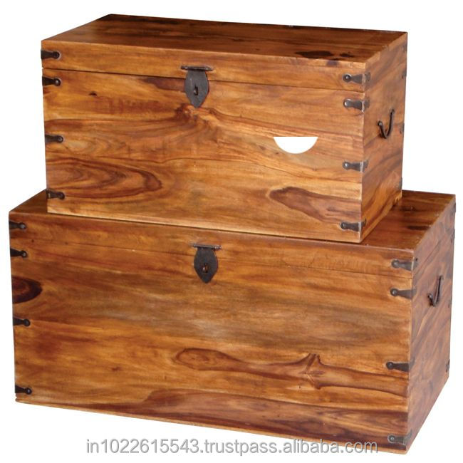 Sheesham Storage Trunk Chest Large Trunk