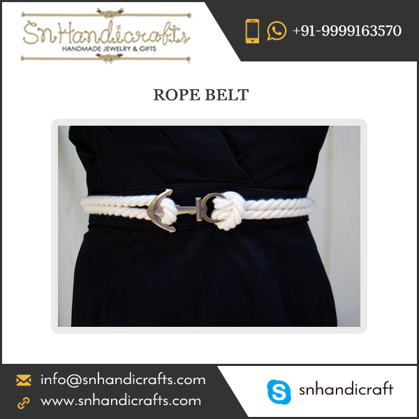 Indian Exporter Selling Anchor Lock Rope Belt at Competitive Price