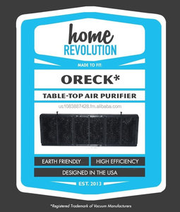 721a0b9199702 Oreck AP1PKP Tabletop Professional Pro Air Purifier Comparable Filter, Home  Revolution Brand Quality Aftermarket Replacement