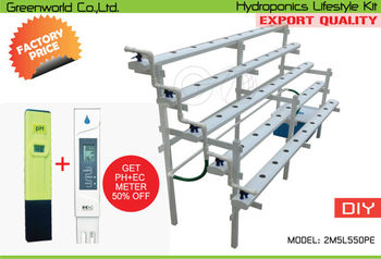 hydroponics lifestyle kit diy system