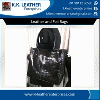 Wide Range of Leather and Foil Bags Available for Wholesale Buyers