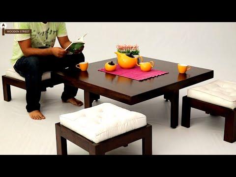 Wooden Street Coffee Table Online Buy Reid Coffee Table Online