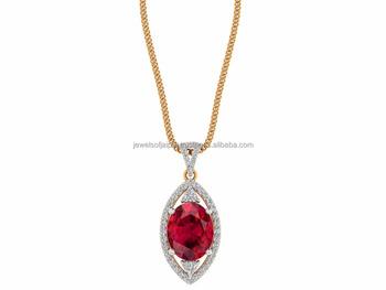 Exclusive designs round certified diamond 14k pure gold natural ruby exclusive designs round certified diamond 14k pure gold natural ruby stone pendant aloadofball Images