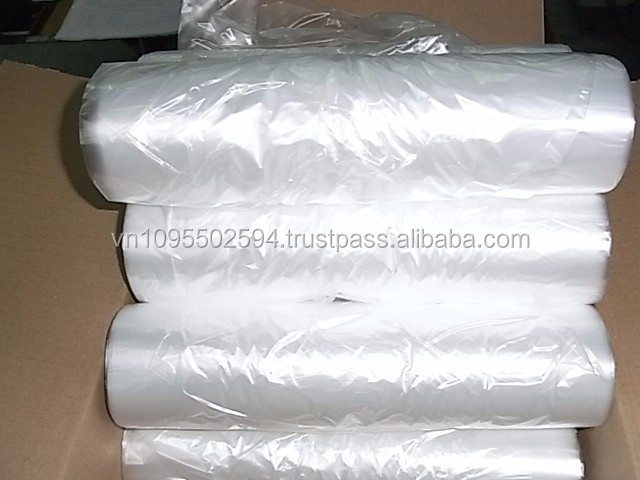 Plastic roll for vegetable and fruit bag