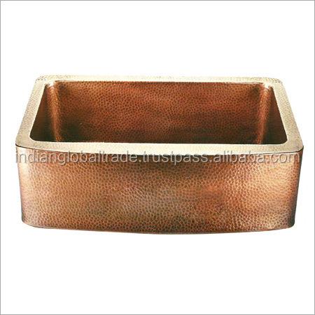 Square Double Wale Copper Sink Square Single Bowl Kitchen Sink Copper Kitchen Sink Buy Square Double Wale Copper Sink White Kitchen Sinks Fancy