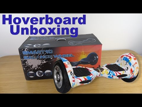 "Self Balancing, 2-Wheel Smart Electric Scooter Unboxing  10"" Model, ""Mini-Segway"", ""Hoverboard"""