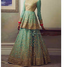 Sea Green Bridal Lehenga for Sale