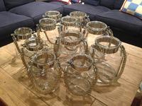Mason Jar Lanterns, Glass Candle Holder