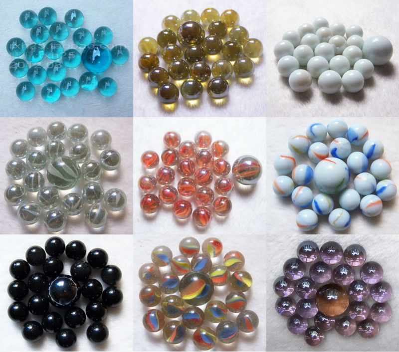 Colorful Decorative Glass Marble Crystal Ball Glass Bead