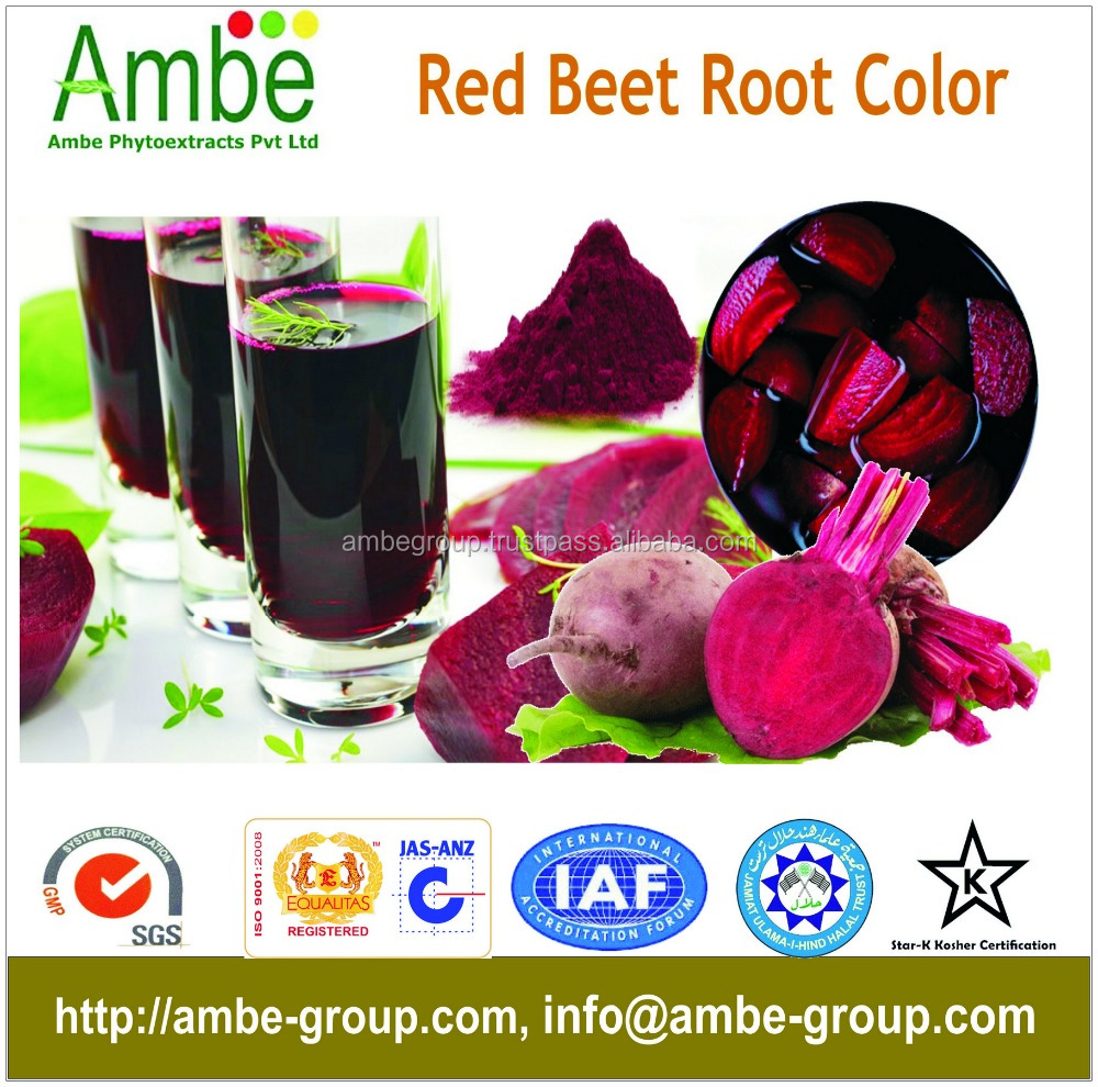Natural Red Beet Root Color, Natural Food Color
