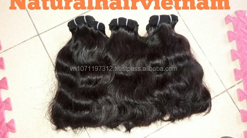 No chemical no tangle wave bulk raw hair 100% Viet Nam human hair virgin hair