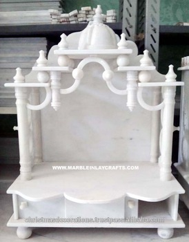 Beautiful home decorative marble temple design buy marble temple designs stone temple white for Marble temple designs for home