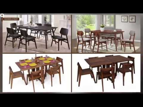 Wooden Street - Buy 6 Seater Dining Table Sets Online | 6 Seater Dining Set