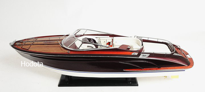 riva rama houten model boot geschilderd hout ambachten. Black Bedroom Furniture Sets. Home Design Ideas