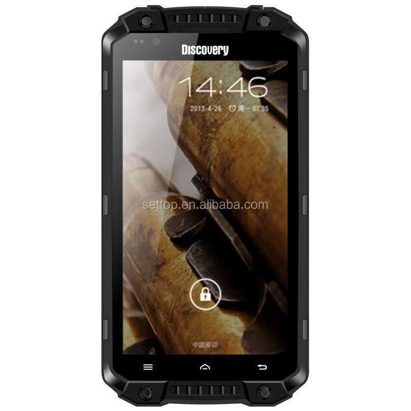 Stoßfest Handy Entdeckung V9 IP68 Wasserdichte Robuste Android 4.4 Smartphone Mit 5,5 Zoll 1 GB/16 GB 3000 mAh China