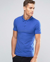 Mens polo shirt slim fit Tshirt 100% polyester breathable work shirts