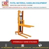 Best Quality Material Handling Equipment Hydraulic Hand Forklift Stacker Manufaturer