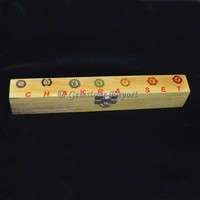 Color Chakra Symbol with Sanskrit Set on Wood Box : Wooden Gift Box Manufacturer