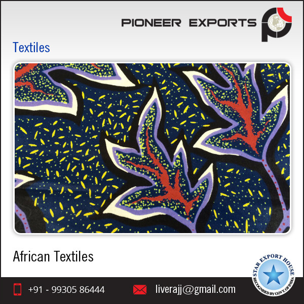 100% Cotton Real Wax African Printed Textiles