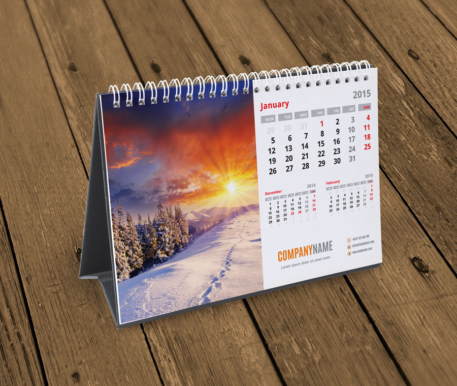 Desk Calendarscardboard Desk Calendartable Desk Desktop Calendar