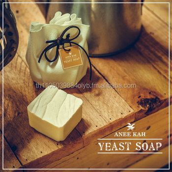 Premium Homemade Natural Organic Yeast Soaps with Pitera an Anti-Aging Essence for Flawless White