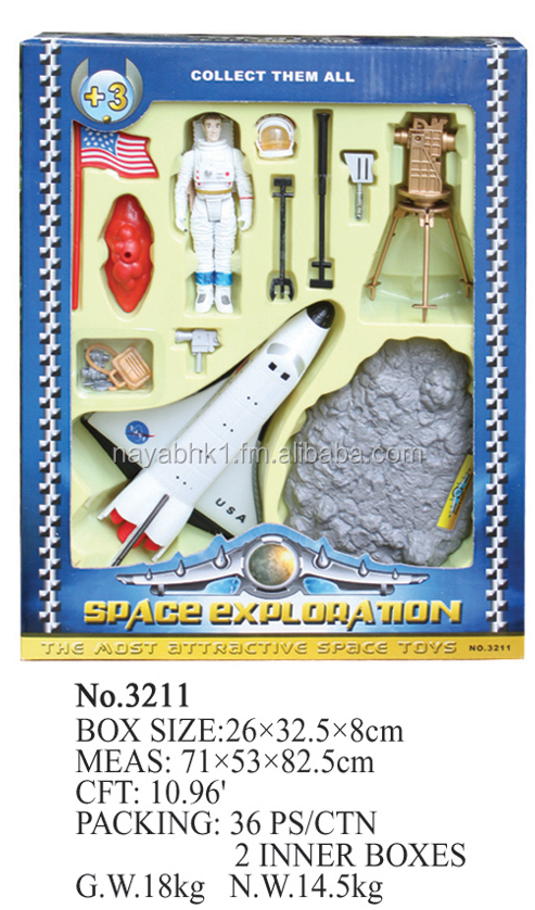 Space toys,Die-cast Metal Space Shuttle with Astronaut ,Space & Astronauts Bucket Playset,Adventure Planet Space Explorer Backpa