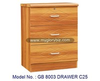 Cabinet Drawer Wooden Storage Drawers Furniture In MDF For Bedroom, small drawers furniture, wood drawer cabinet chest malaysia