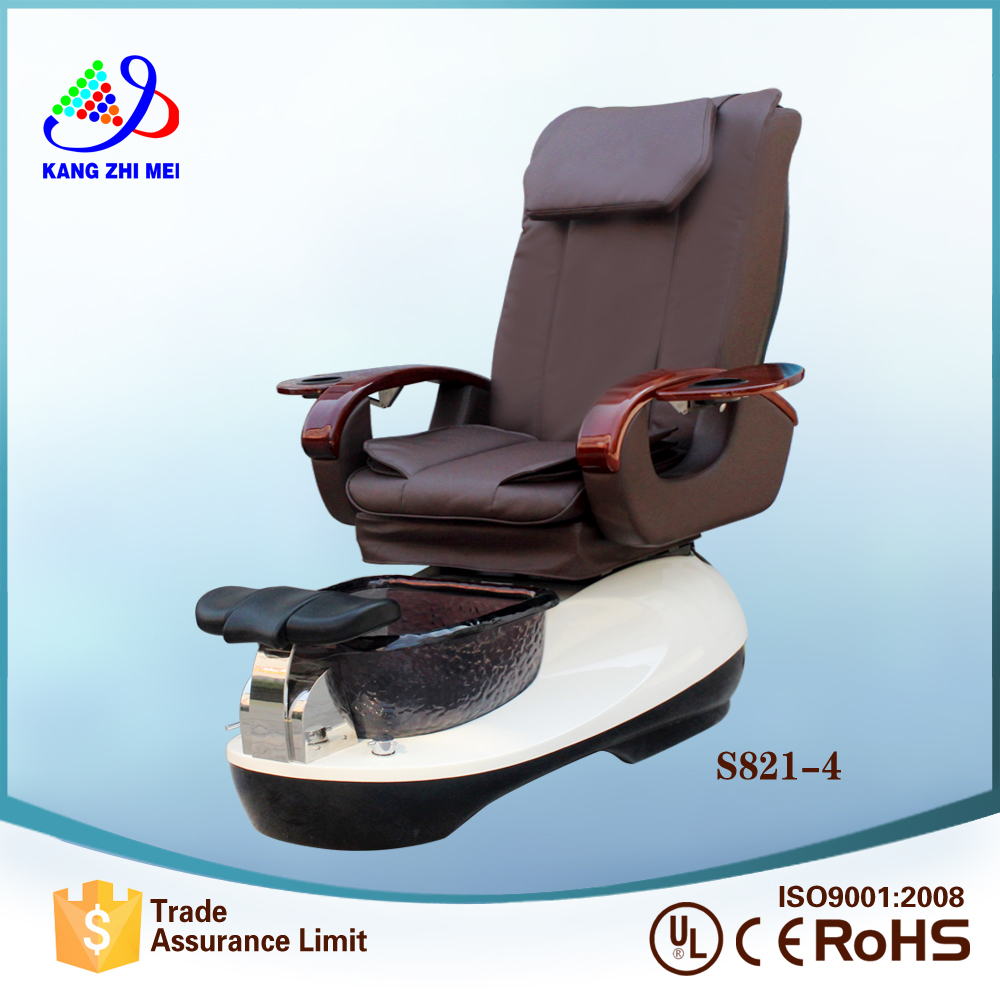 Hot sale luxury pedicure spa massage chair for nail salon (KM-S821-4)
