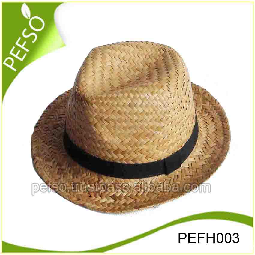 Hot Selling Natural Grass Cheap Sombrero Straw Hat Wholesale