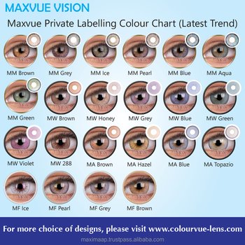 Oem Service For Color Contact Lens By Maxvue Free Samples Provided ...