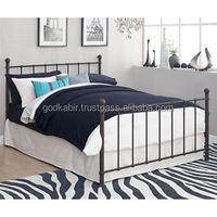 Full Metal Bed Frame Home Furniture with Headboard