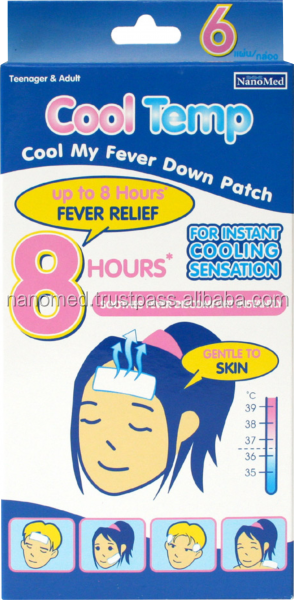 Cool Temp Gel Patch For Teenagers And Adults
